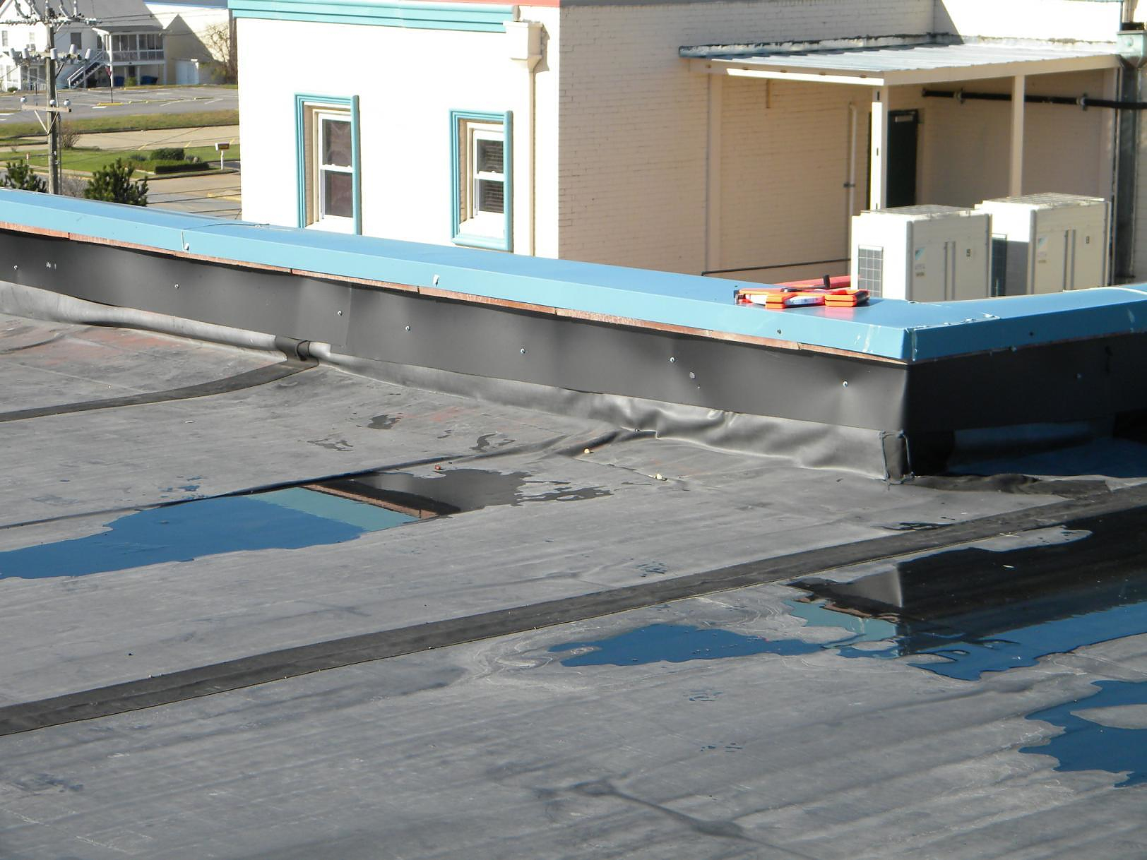 Do You Need a Roofer to Fix your Ponding?