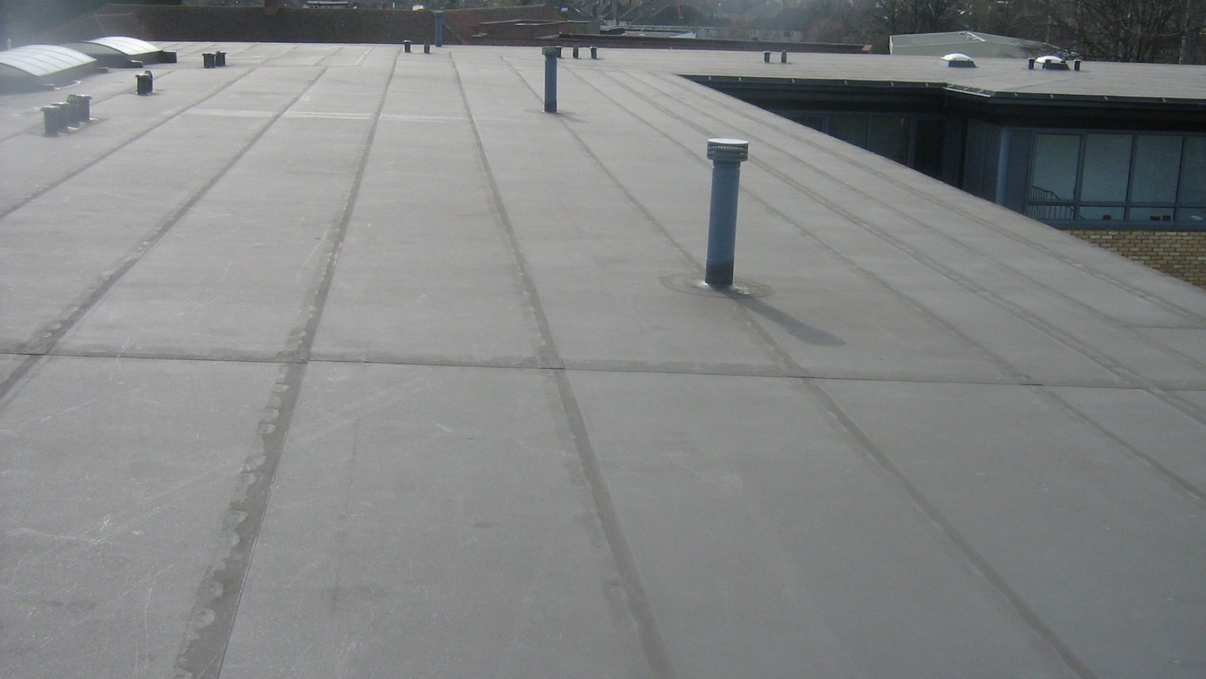 Ponding water 101 roofslope - Advantages using epdm roofing membrane ...
