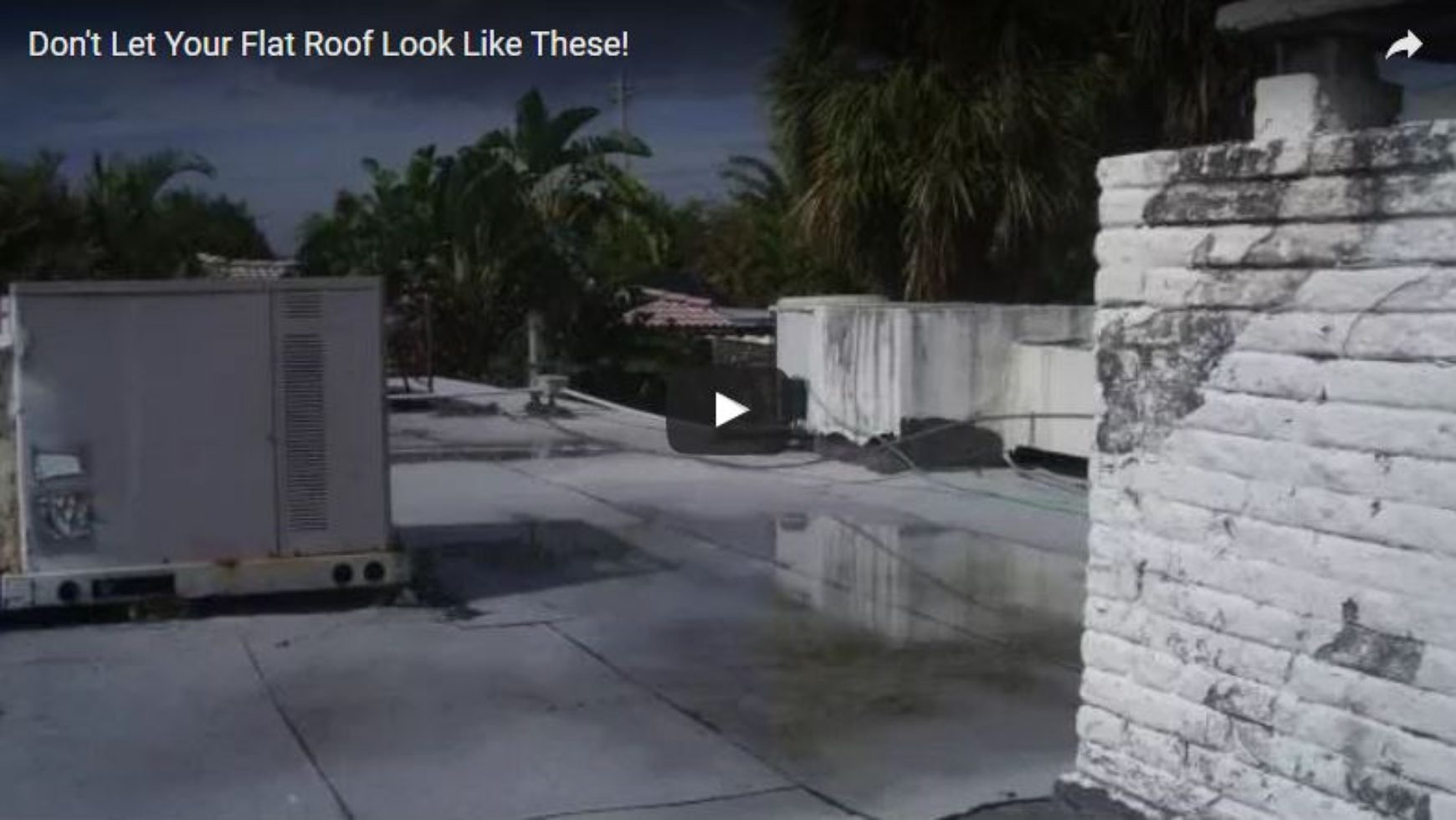 Don't Let Your Flat Roof Look Like These!