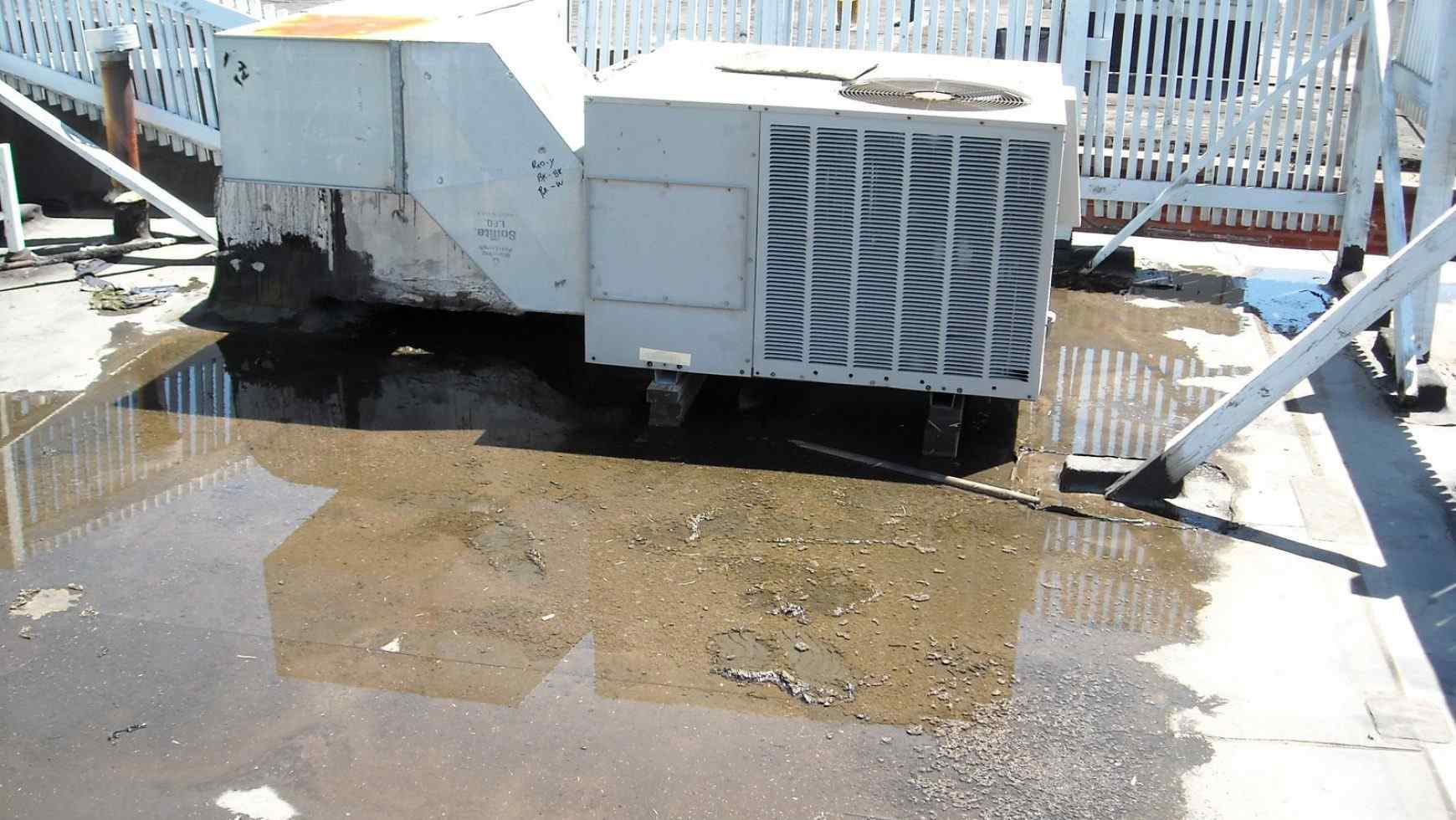 Ponding Water Sources Other Than Rain: Leaks From Cooler Lines to Structural Issues